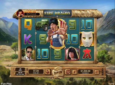 Fire Dragon Progressive Jackpot Slot