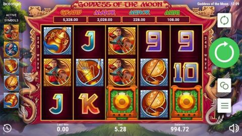 Goddes of the Moon Booongo Progressive Jackpot Slot