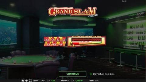 Grand Slam Deluxe StakeLogic Progressive Jackpot Slot