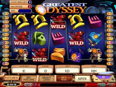 Greatest Odyssey PlayTech Progressive Jackpot Slot
