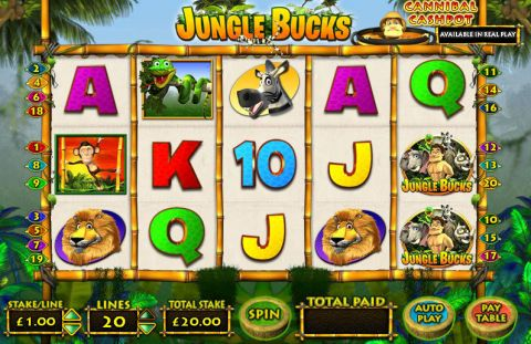 Jungle Bucks Inspired Progressive Jackpot Slot