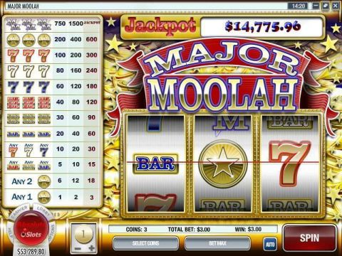 Major Moolah Rival Progressive Jackpot Slot