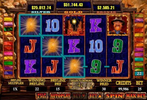 Mine All WGS Technology Progressive Jackpot Slot