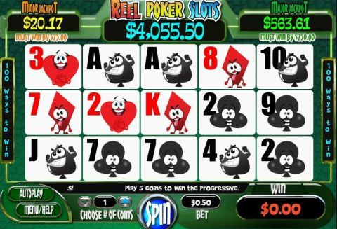 Reel Poker WGS Technology Progressive Jackpot Slot