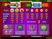 Bulls Eye Bucks Progressive Slot
