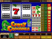 Crazy Crocodile Progressive Slot
