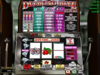 Diamond Mine Deluxe Progressive Slot