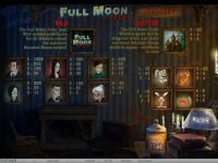 Full Moon Fever Progressive Slot