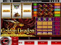 Golden Dragon Progressive Slot