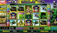 Incredible Hulk Progressive Slot