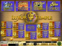 Luxor Temple Progressive Slot