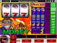Monkey's Money Progressive Slot