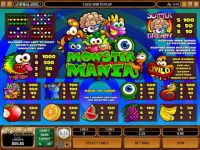 Monster Mania Progressive Slot