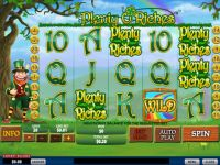 Plenty O'Riches Progressive Slot