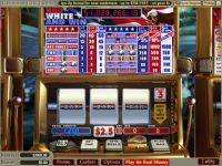 WGS Technology Red White and Win Classic slot Slot Reels