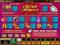 Secret Admirer Progressive Slot
