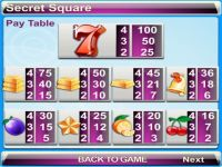 Secret Square Progressive Slot