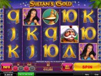 Sultan's Gold Progressive Slot