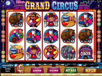 The Grand Circus Progressive Slot