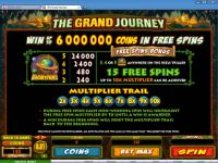 The Grand Journey Progressive Slot