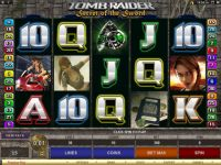 Tomb Raider - Secret of the Sword Progressive Slot