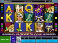 Treasure Palace Progressive Slot