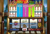 Triple 10x Wild Progressive Slot