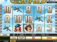 Wings of Gold Progressive Slot