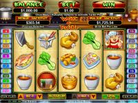 RTG Wok and Roll slot Slot Reels