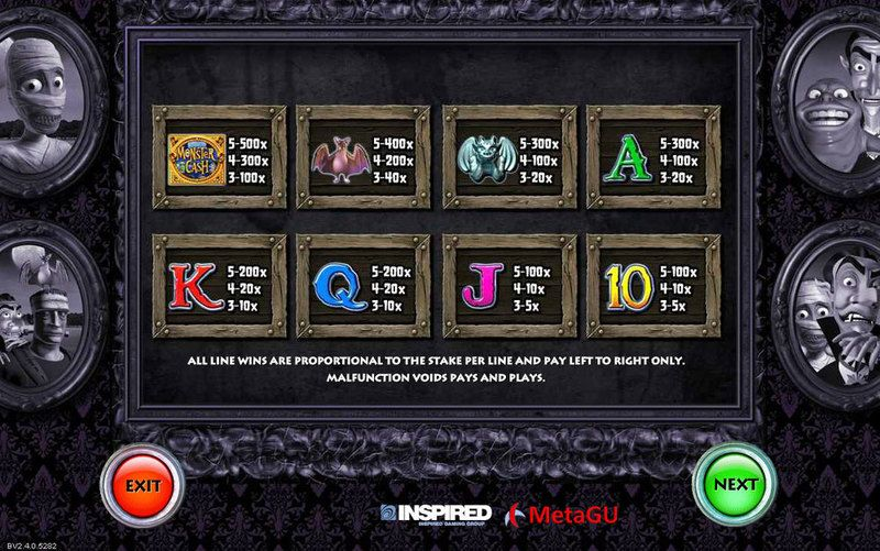 Monster Cash Inspired Progressive Jackpot Slot