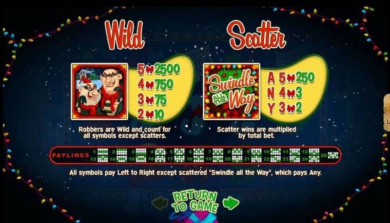 Swindle All The Way RTG Progressive Jackpot Slot