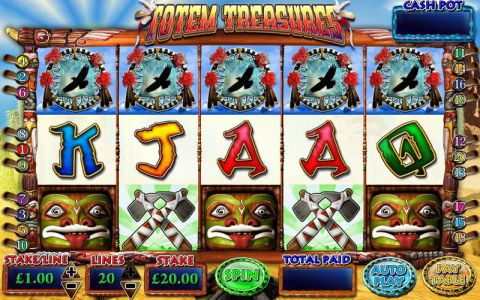Totem Treasures Inspired Progressive Jackpot Slot