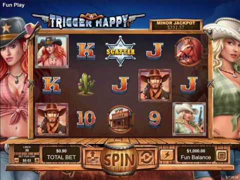 Trigger Happy Progressive Jackpot Slot